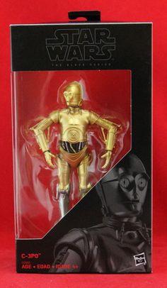 "C-3PO Silver Leg Star Wars the Black Series 6"" Action Figure Hasbro Walgreens  #Hasbro"