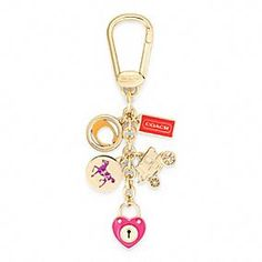 COACH MULTI MIX KEY RING