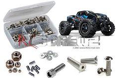 RCZTRA061  Traxxas X-Maxx 44 (#77076-4) Stainless Screw Kit