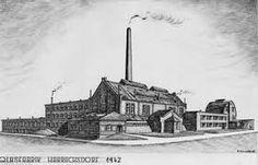 1942, Glassfabrik  Harrachsdorf. Sklárna Harrachov,