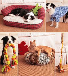 PET Sewing Pattern  Dog Beds Pets Toys Dogs Coat door patterns4you