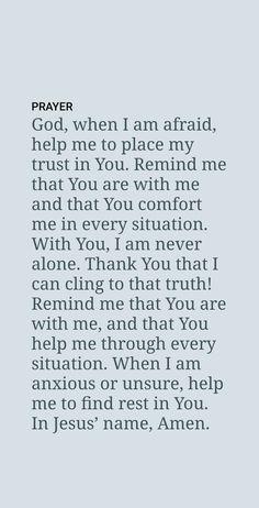 Prayer Scriptures, Faith Prayer, Prayer Quotes, Faith In God, Spiritual Quotes, Bible Quotes, Qoutes, Bible Verses, Strength Bible