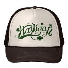 Hooligan St. Patricks Day Trucker Hat
