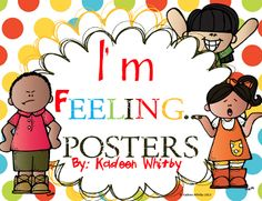 "FREE LESSON - ""Feelings Posters and Log Journal"" - Go to The Best of Teacher Entrepreneurs for this and hundreds of free lessons.  #FreeLesson  #BackToSchool  #TeachersPayTeachers   #TPT  http://www.thebestofteacherentrepreneurs.net/2013/09/free-misc-lesson-feelings-posters-and.html"