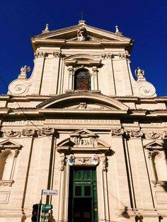 Façade of the chiesa di Santa Maria della Vittoria, Rome