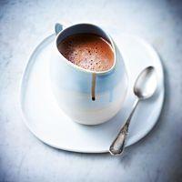 chocolat chaud à la cannelle caramélisée de pierre hermé