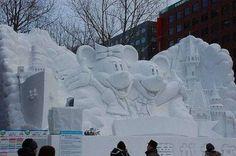 Amazing Snow Sculptures  — 10 Pics  #PhotoAlbum  #CheckOutAllPhotos