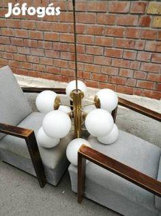 Design gömb búrás csillárok arany/ezüst - XIV. kerület, Budapest