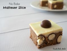 No Bake Malteser Slice - Create Bake Make