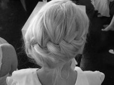 If you have long, thick hair this would make a cute/quick updo