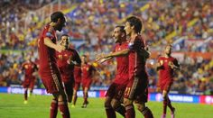 Sport Football: Alcacer shows his delight at debut goal for Spain