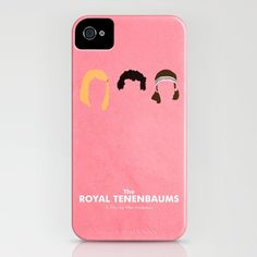 The Royal Tenenbaums iPhone Case by Chay Lazaro