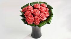 バラ肉の薔薇