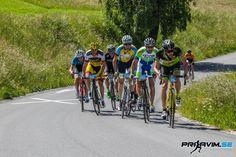 80 kolesarjev se je na sončno soboto dopoldne spopadlo z atraktivnim vzponom na Golte.
