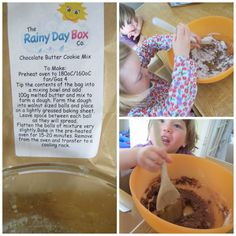 Rainy Day Box Co Chocolate Butter, Melted Butter, Rainy Days, Activities For Kids, Oven, Goodies, Breakfast, Box, Crafts