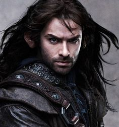 Kili(Aidan Turner)...also played Mitchel in my BBC Being Human show.