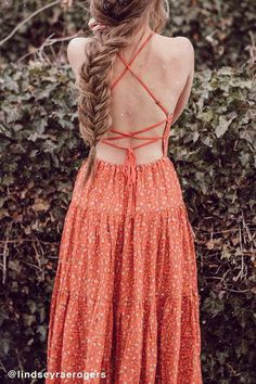 Urban Outfitters always has the most adorable dresses for spring and summer. The open back is perfect for warm weather. Love both styles #CommissionLink