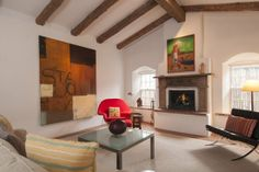 Santa Fe Luxury Vacation Rentals: Enjoy a Santa Fe Rental on Acequia Madre Brick Flooring, Floors, Canyon Road, Romantic Getaways, Rental Property, Two Bedroom, Vacation Rentals, Santa Fe, House Plans