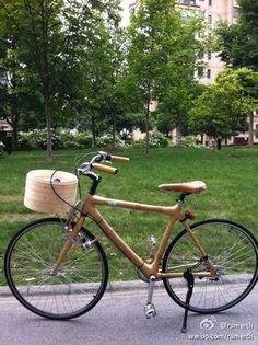 golden bamboo bike #Shanghai