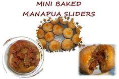 Mini Baked Manapua Sliders - (Char Siu Bao) daSilva Melting Pot - Our Family Recipes