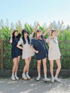Marishe Korean Fashion Similar Look I Pin By Aki Warinda Korean Fashion Summer, Korean Fashion Trends, Korea Fashion, Asian Fashion, Korean Summer, Fashion Couple, Cute Fashion, Look Fashion, Girl Fashion
