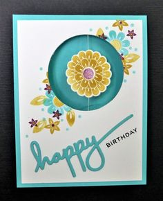 CC619 Spinning Flower by hobbydujour - Cards and Paper Crafts at Splitcoaststampers