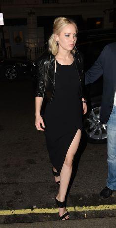 Jennifer Lawrence at Chiltern Firehouse on London (December 17)
