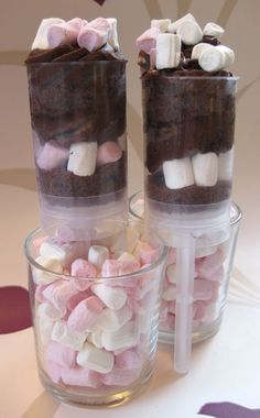 A simple way to present your cake push pops!