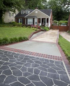 Learn how to properly prepare and resurface concrete for stenciling. Click here to read more about the process.