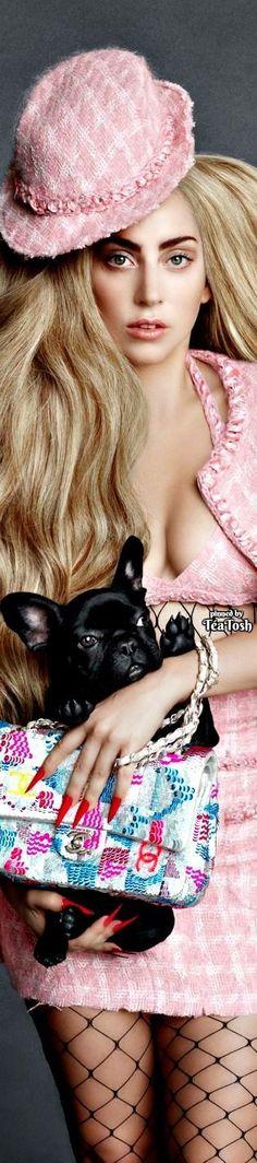 ❇Téa Tosh❇ Lady Gaga & friend wearing CHANEL