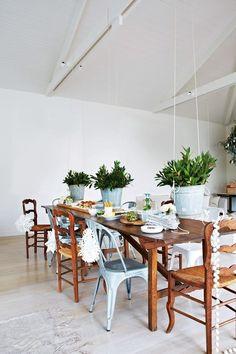 Greenhouse Interiors Xmas Ideas Table Decorations Vintage