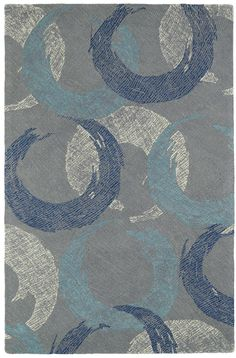 Montage Hand-Tufted Grey Area Rug