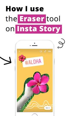 Step-by-step tutorial: How to use the new features in Insta Stories - including the Eraser tool, Insta Story hashtags, location tags and more.