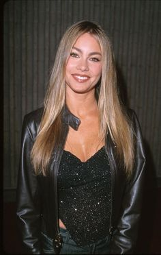 Pin for Later: 21 Times We Coveted Sofia Vergara's Gorgeous Hair 1999 Back in 1999, a fresh-faced Sofia Vergara looked stunning with her natural blond locks and brows.