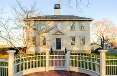 Fabulously Restored 1745 Rhode Island Home Asks $2M