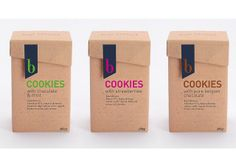 Packaging cookies, cajas galletas, via Flickr.