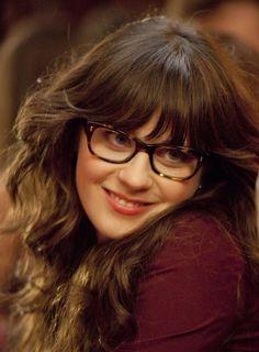 glasses + zoey deschanel :)