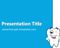 Dentist PowerPoint Template is a blue template with appropriate image which you can use to make an elegant and professional PPT presentation. This FREE PowerPoint template is perfect for topics that are related to dental hygiene.