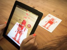 Gizmo: Augmented Reality Greeting Cards. by john littleboy — Kickstarter. Gizmo greeting cards give you and your loved ones a stunning experience using augmented reality and your smart device.