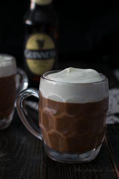 Mousse de chocolate y Guinness