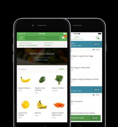 """Your groceries, delivered in 2-hours or less."" - @christinecassis about the Instacart app."