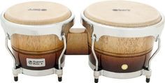 LP Performer Bongos Vintage Fade Chrome by LP. Save 20 Off!. $164.00. Crafted from Siam oak, these Latin Percussion LPP601 Performer Bongo Drums sing in the upper-mid frequencies with full open tones and crackle with high-pitched slaps. The exterior shell design and steel bottoms provide extra durability and stability when playing your bongos. EZ-Curve rims and tucked heads also come standard. An excellent and affordable choice for beginning and intermediate hand drummers. Head...