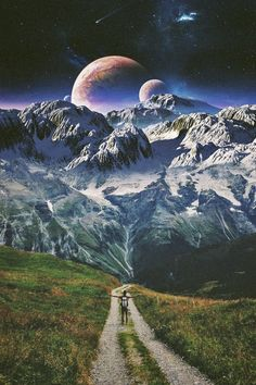 Surreal Collage, Surreal Art, Collages, Collage Art, Nature Collage, Fantasy Landscape, Fantasy Art, Arte Banksy, Psy Art