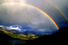 'Kananaskis Rainbow' - photo by Chris & Lara Pawluk, via Flickr;  Spray Lakes, Alberta, Canada