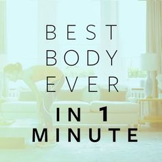 Best Body Ever in 1 Minute? Er yes please. @arabellagreenhill shows you how: 10x jump squats 10x jumping jacks 5x reverse lunges left 5x reverse lunges right 10x high knees 5x press ups. And you're done. Now repeat #fitnessflow #flowexercie #exercise #bestbodyever #bestbody #workout #strong #fitspiration | Flow exercises by @gregory_graypt | Hair&makeup by @niki_black_hairstylist | Video by @madsthefilmaker | Outfit by @sweatybetty  via INSTYLE UK MAGAZINE OFFICIAL INSTAGRAM - Fashion…
