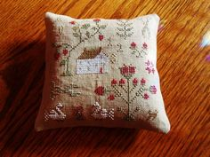 Valentine Sampler - With Thy Needle and Thread