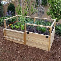 Outdoor Living Today RB63 6-ft x 3-ft Raised Cedar Garden Bed (Actual Size: 6-ft x 3.25-ft)