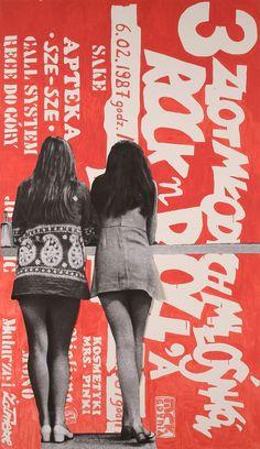 poster | Paulina Ołowska, Rock and Rolla #typography