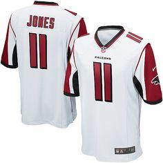 c5e6f095bee Atlanta Falcons  11 Julio Jones White Game Jersey Cheap Nba Jerseys