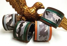 Joxasa leather cuffs.